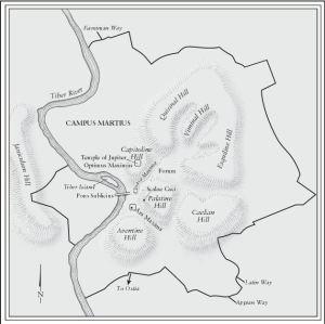 capitoline hille - tiber river